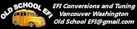 EFI Conversions and Tuning! Seattle to Portland! E-mail Tuning Consultant!