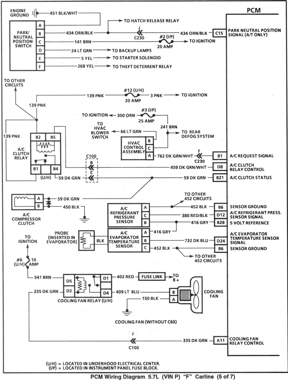 1995 pcm5 index of gearhead efi wiring 4L60E Wiring Harness Diagram at soozxer.org