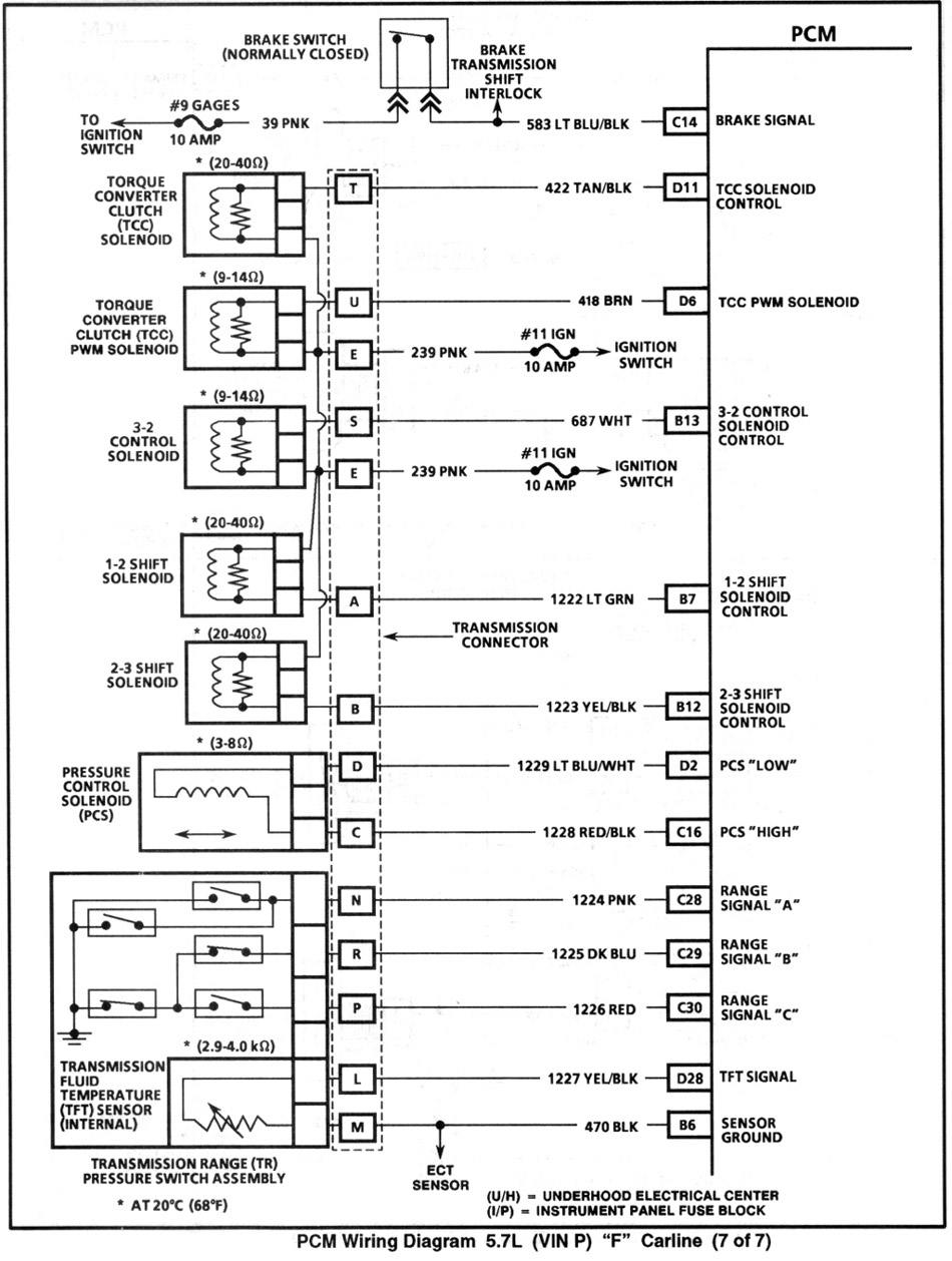95 Lt1 F Body Wiring Diagram Bypass Data Schema Gm Alternator 1995 Camaro Z28 Obd Ii 37 Firebird 94
