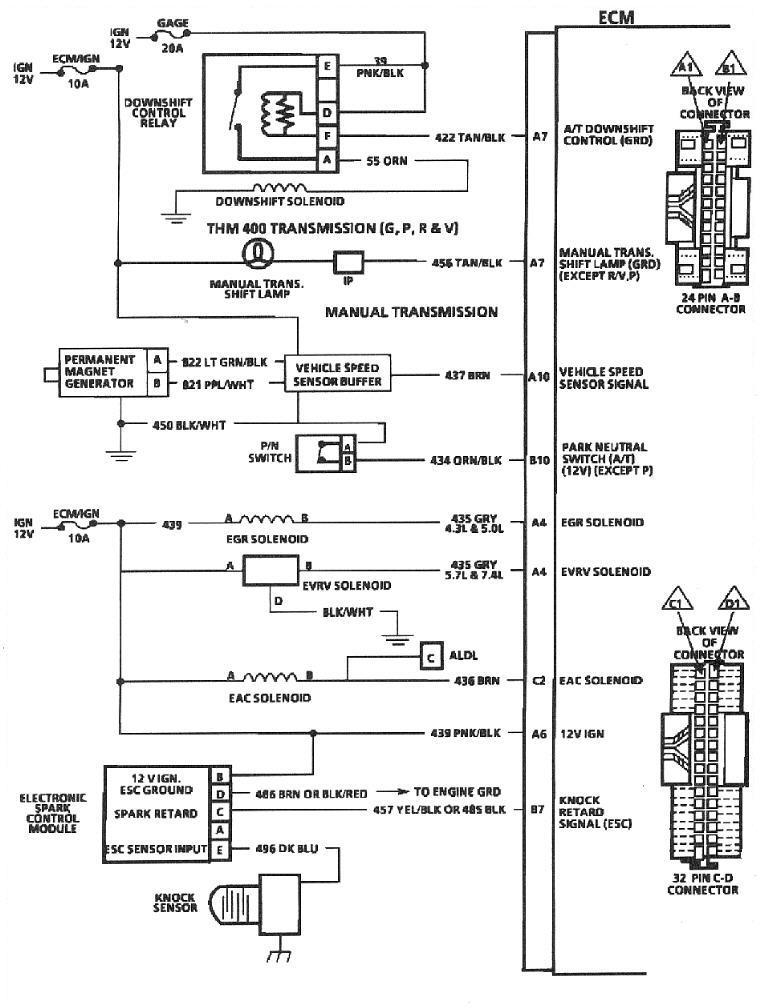 89 700r4 Wiring Diagram - WIRE Center •